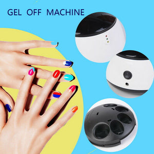Electric UV Nail Polish Remover Gel Polish Removal Machine Gel Soak Off Remover Steam Off Nail Steamer