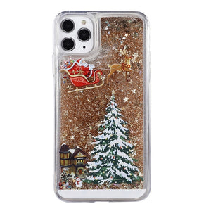 Case Cover for iPhone Flash Powder Mobile Phone