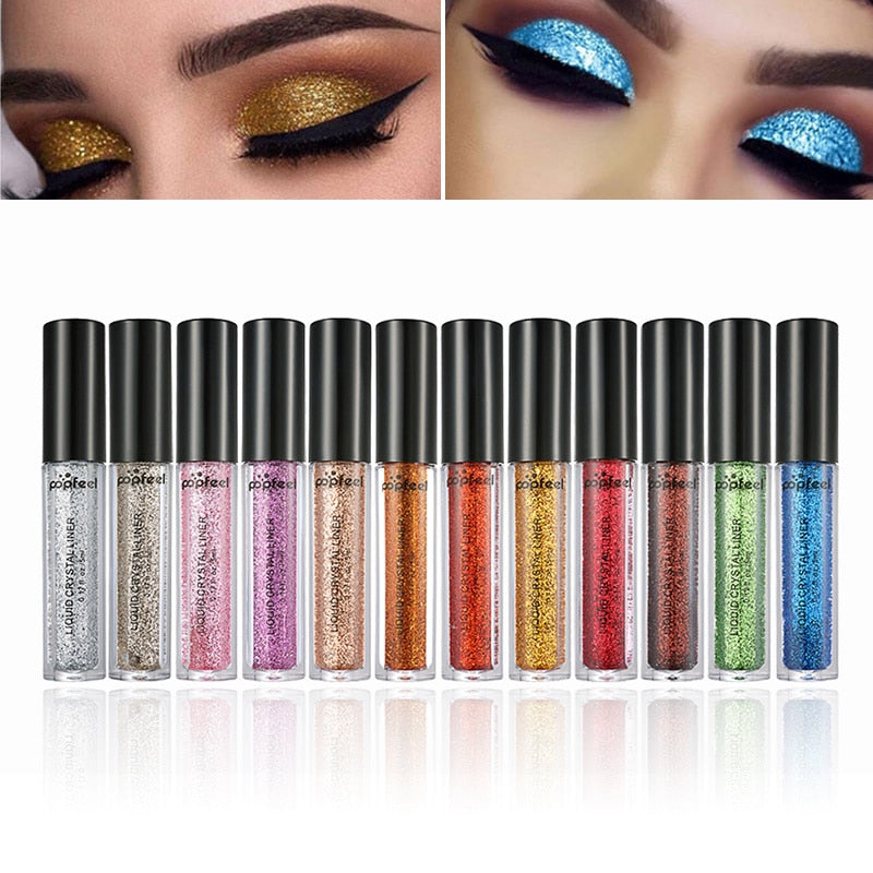 Eyes Makeup Glitter & Shimmer Shinning Cream Eyeshadow