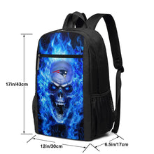 Load image into Gallery viewer, 3D Skull Patriots Travel Laptop Backpack 17 IN-Heroinhere