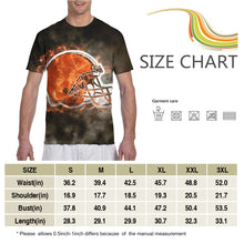 Load image into Gallery viewer, Browns Illustration Art T Shirts For Men-Heroinhere