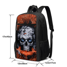 Load image into Gallery viewer, 3D Skull Broncos Travel Laptop Backpack 17 IN-Heroinhere