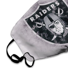 Load image into Gallery viewer, Raiders Logo Anti-infective Polyester Face Mask-Heroinhere