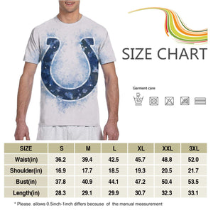 Colts Logo T Shirts For Men-Heroinhere