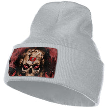 Load image into Gallery viewer, 3D Skull Buccaneers Knit Hat Cap-Heroinhere