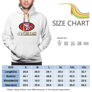 49ers Football Team Hoodies For Men Pullover Sweatshirt-Heroinhere