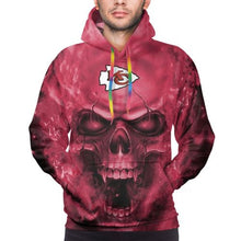 Load image into Gallery viewer, 3D Skull Chiefs Hoodies For Men Pullover Sweatshirt-Heroinhere