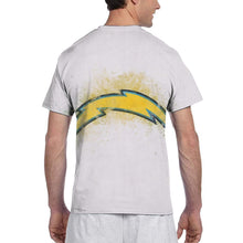Load image into Gallery viewer, Chargers Logo T Shirts For Men-Heroinhere