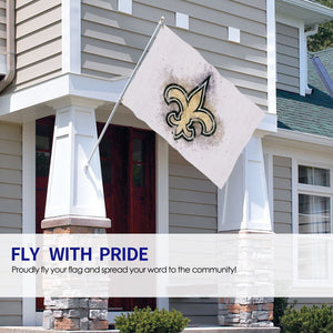 Saints Logo Flag 4*6 ft-Heroinhere