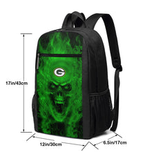 Load image into Gallery viewer, 3D Skull Packers Travel Laptop Backpack 17 IN-Heroinhere