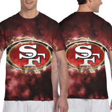 Load image into Gallery viewer, 49ers Illustration Art T Shirts For Men-Heroinhere