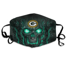 Load image into Gallery viewer, QIANOU66 Skull Lava Packers Anti-infective Polyester Face Mask-Heroinhere