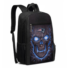 Load image into Gallery viewer, Patriots Skull Lava Travel Laptop Backpack 17 IN-Heroinhere