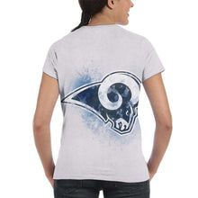 Load image into Gallery viewer, Rams Logo T Shirts For Women-Heroinhere
