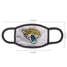 Load image into Gallery viewer, Jaguars Logo Anti-infective Polyester Face Mask-Heroinhere