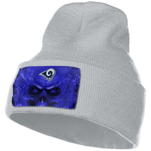 Load image into Gallery viewer, 3D Skull Rams Knit Hat Cap-Heroinhere