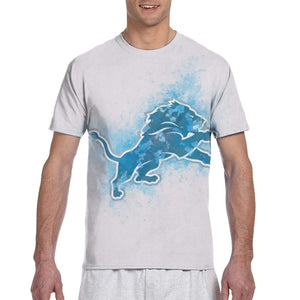 Lions Logo T Shirts For Men-Heroinhere