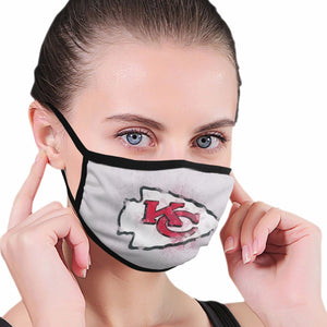 Chiefs Logo Anti-infective Polyester Face Mask-Heroinhere