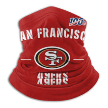 Load image into Gallery viewer, 100 49ers Team Seamless Face Mask Bandanas-Heroinhere