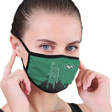 Load image into Gallery viewer, Jets Team Anti-infective Polyester Face Mask-Heroinhere