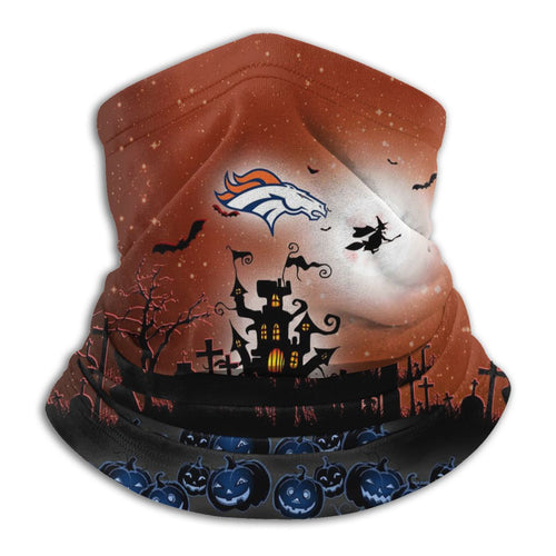 Broncos Football Team Halloween Seamless Face Mask Bandanas-Heroinhere