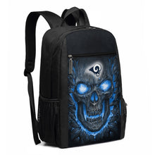 Load image into Gallery viewer, Rams Skull Lava Travel Laptop Backpack 17 IN-Heroinhere