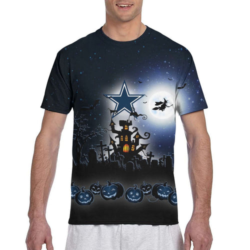 Cowboys Football Team Halloween T Shirts-Heroinhere