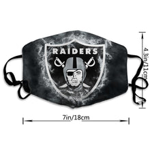 Load image into Gallery viewer, Raiders Illustration Art Anti-infective Polyester Face Mask-Heroinhere