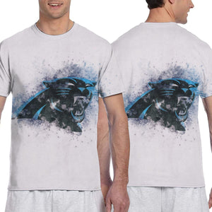 Panthers Logo T Shirts For Men-Heroinhere