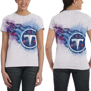 Titans Logo T Shirts For Women-Heroinhere