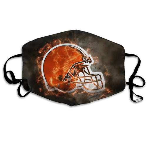 Browns Illustration Art Anti-infective Polyester Face Mask-Heroinhere