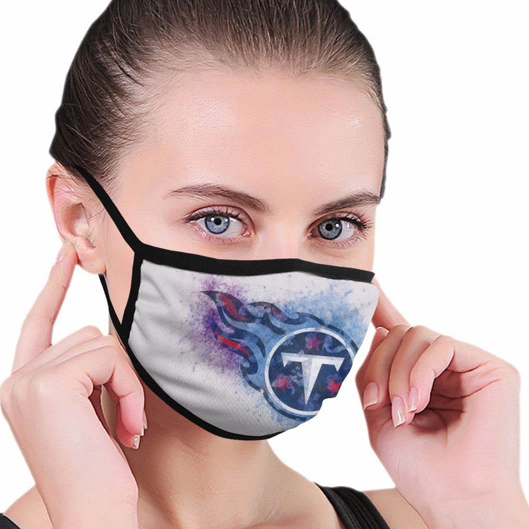 Titans Logo Anti-infective Polyester Face Mask-Heroinhere