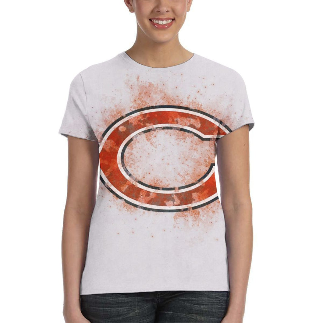 Bears Logo T Shirts For Women-Heroinhere