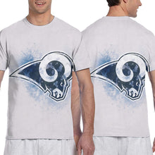 Load image into Gallery viewer, Rams Logo T Shirts For Men-Heroinhere
