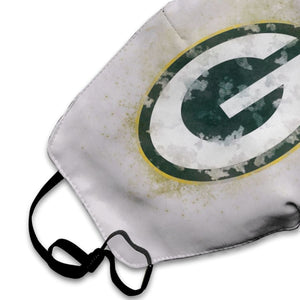 Packers Logo Anti-infective Polyester Face Mask-Heroinhere