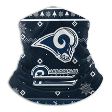 Load image into Gallery viewer, Rams Team Christmas Ugly Seamless Face Mask Bandanas-Heroinhere