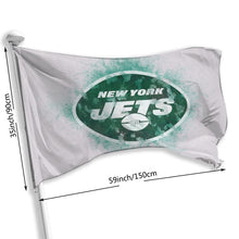 Load image into Gallery viewer, Jets Logo Flag 3*5 ft-Heroinhere