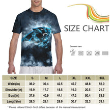 Load image into Gallery viewer, Panthers Illustration Art T Shirts For Men-Heroinhere
