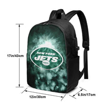 Load image into Gallery viewer, Jets Illustration Art Travel Laptop Backpack USB Backpack 17 IN-Heroinhere