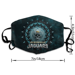 Jaguars Anti-infective Polyester Face Mask-Heroinhere