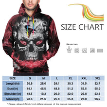 Load image into Gallery viewer, QIANOU66 3D Skull Falcons Hoodies For Men Pullover Sweatshirt-Heroinhere