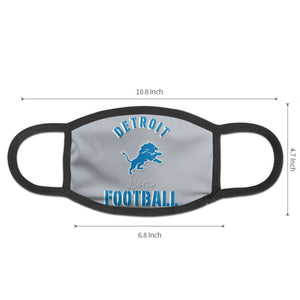 Lions Football Team Anti-infective Polyester Face Mask-Heroinhere