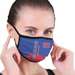 Giants Team Anti-infective Polyester Face Mask-Heroinhere
