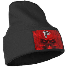 Load image into Gallery viewer, 3D Skull Falcons Knit Hat Cap-Heroinhere