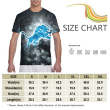 Load image into Gallery viewer, Lions Illustration Art T Shirts For Men-Heroinhere