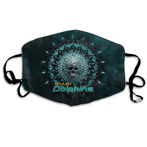 Dolphins Anti-infective Polyester Face Mask-Heroinhere