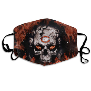 QIANOU66 3D Skull Bears Anti-infective Polyester Face Mask-Heroinhere