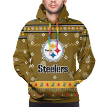 Load image into Gallery viewer, Steelers Team Christmas Ugly Hoodies For Men Pullover Sweatshirt-Heroinhere