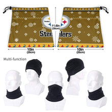 Load image into Gallery viewer, Steelers Team Christmas Ugly Seamless Face Mask Bandanas-Heroinhere