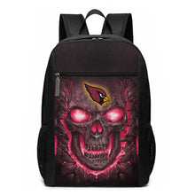 Load image into Gallery viewer, Cardinals Skull Lava Travel Laptop Backpack 17 IN-Heroinhere